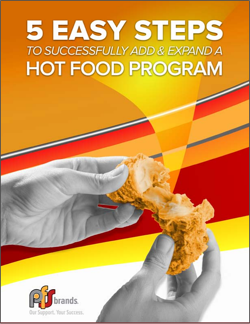 5 Easy Steps to Add or Expand a Hot Food Program