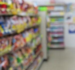 Convenience c-store aisle