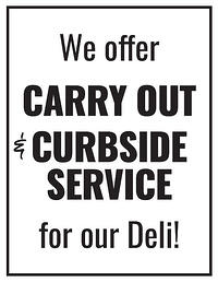 carry out flyer