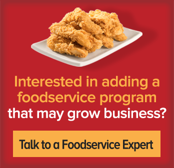 Want to talk to a foodservice expert for free?