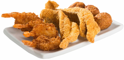 Champs Chicken Fingers and seafood